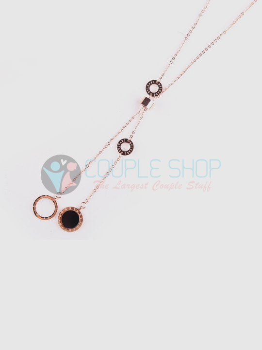 Kalung Single Gold Plated Kode 708