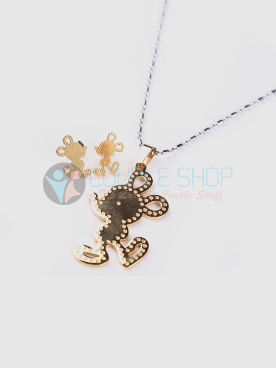 Kalung Single Gold Plated Kode 715