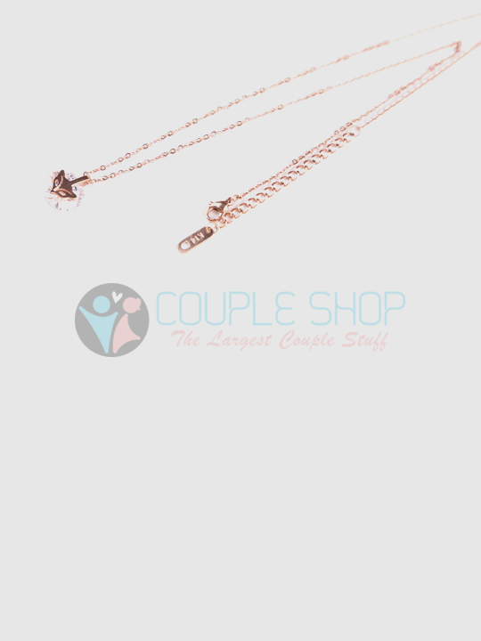 Kalung Single Gold Plated Kode 717