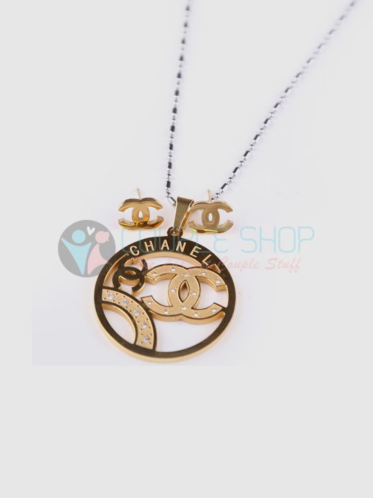Kalung Single Gold Plated Kode 723