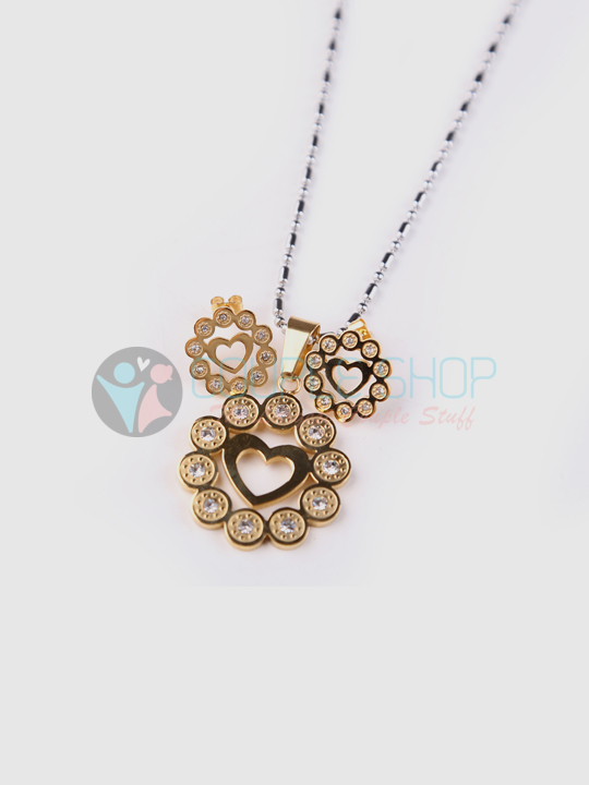Kalung Single Gold Plated Kode 725