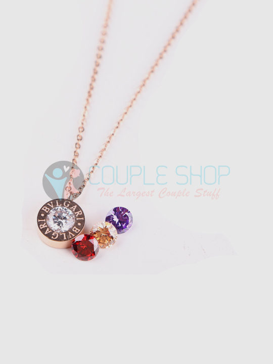 Kalung Single Gold Plated Kode 730