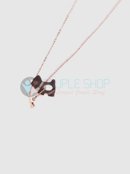 Kalung Single Gold Plated Kode 744