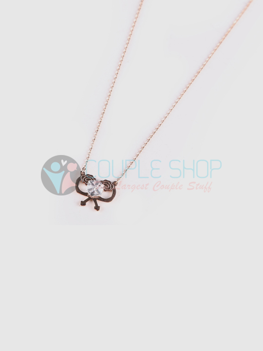 Kalung Single Gold Plated Kode 745