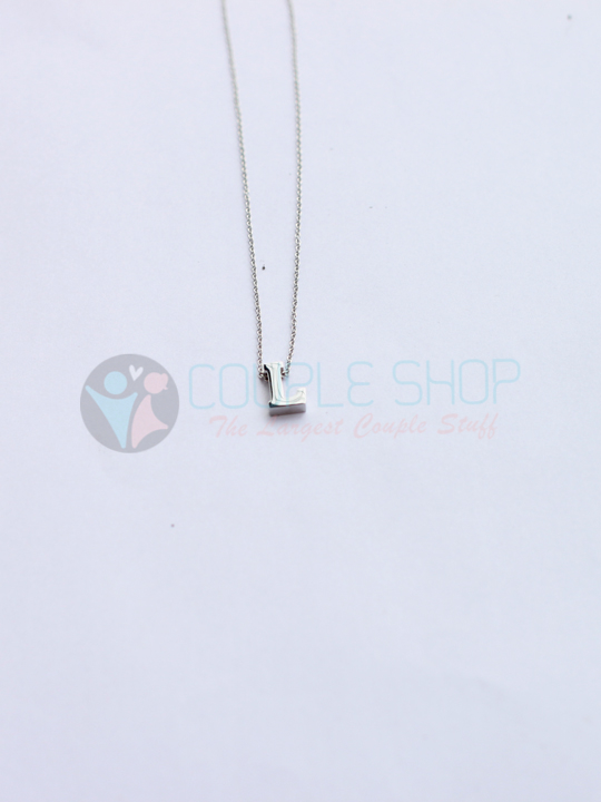 Kalung Single Abjad L