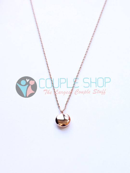 Kalung Single Gold Plated Kode 777