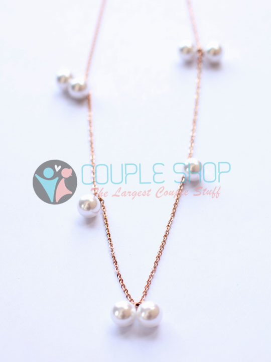 Kalung Single Gold Plated Kode 780