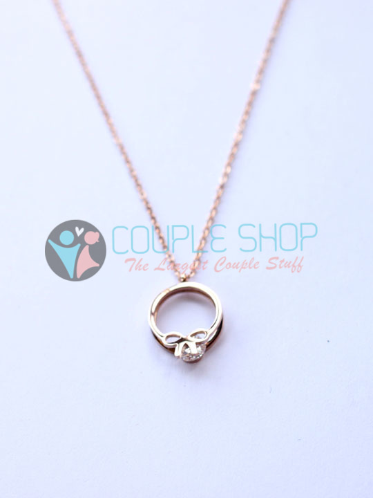 Kalung Single Gold Plated Kode 783