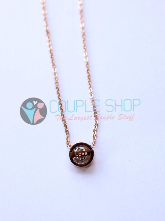 Kalung Single Gold Plated Kode 785