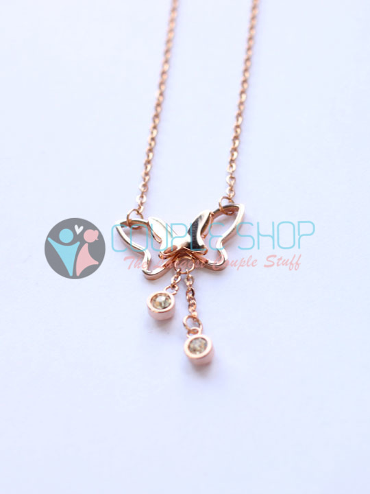 Kalung Single Gold Plated Kode 788