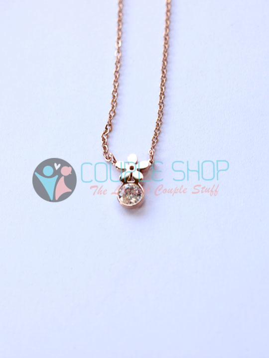 Kalung Single Gold Plated Kode 789