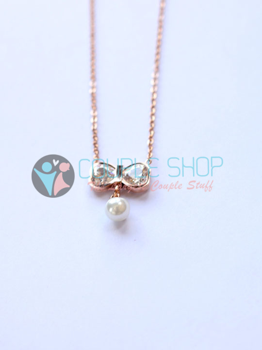 Kalung Single Gold Plated Kode 790