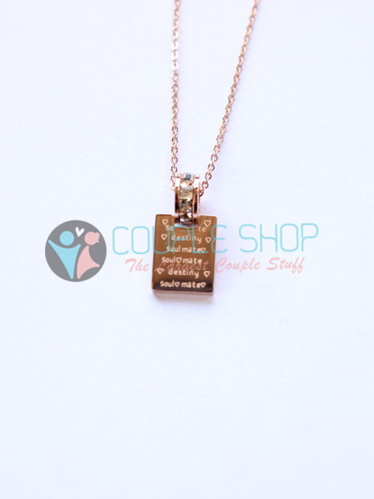 Kalung Single Gold Plated Kode 792