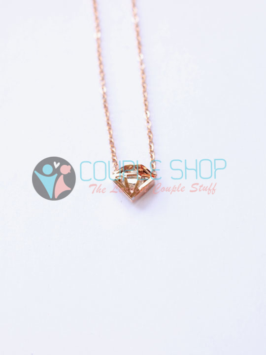 Kalung Single Gold Plated Kode 793