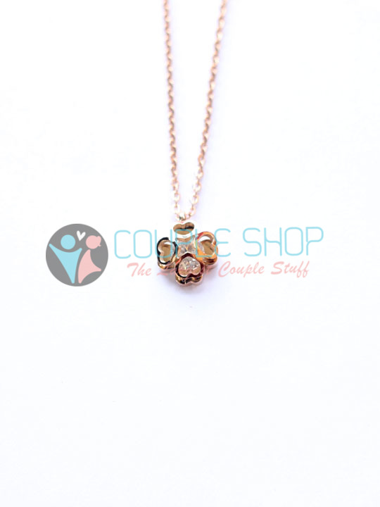 Kalung Single Gold Plated Kode 794