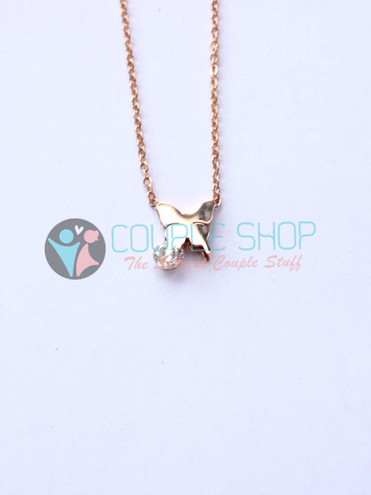 Kalung Single Gold Plated Kode 795
