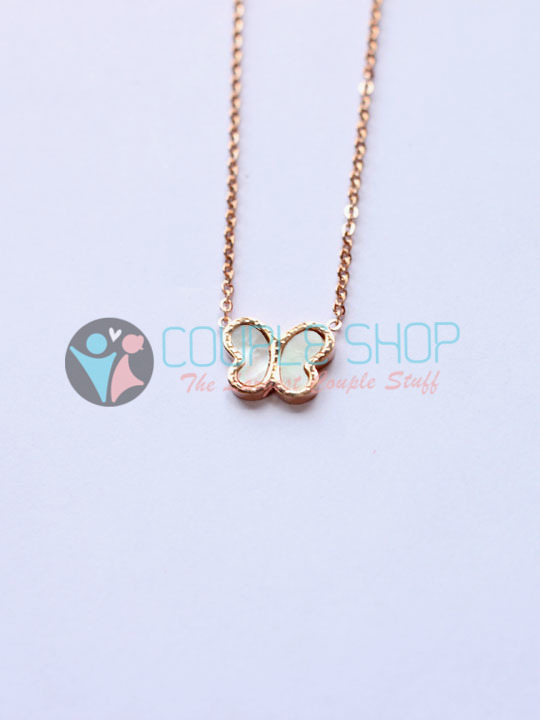 Kalung Single Gold Plated Kode 796