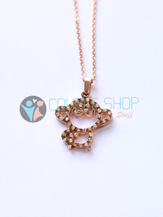 Kalung Single Gold Plated Kode 797