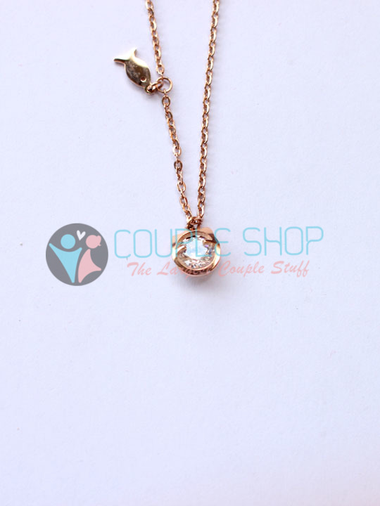 Kalung Single Gold Plated Kode 798