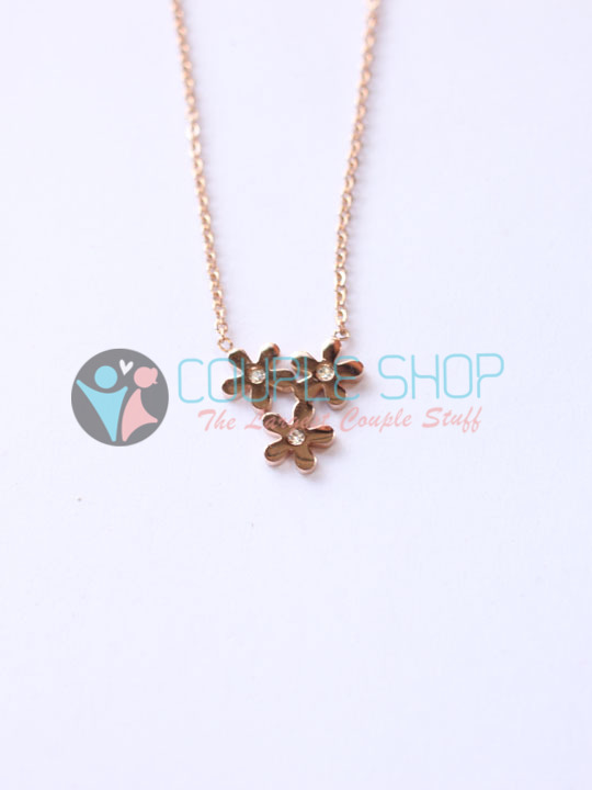 Kalung Single Gold Plated Kode 799