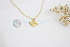 Kalung Single Gold Plated kalung abjad H