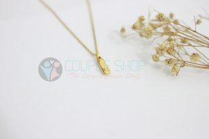 Kalung Single Gold Plated kalung abjad I